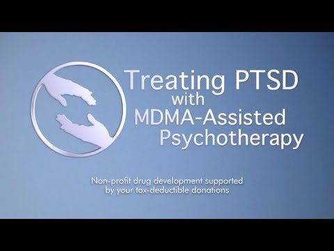 Treating PTSD with MDMA-Assisted Psychotherapy: 3D Motion Graphic thumbnail