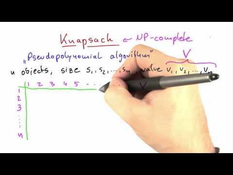 17-03 Pseudopolynomial Algorithm For Knapsack thumbnail