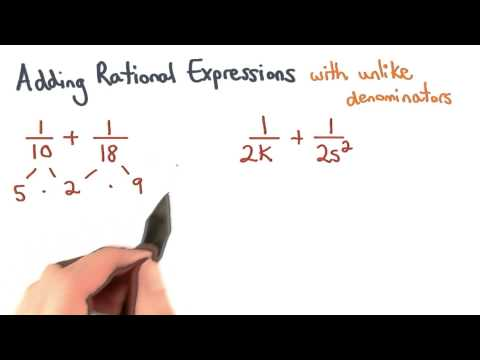 Adding Fractions Unlike Denominators - Visualizing Algebra thumbnail