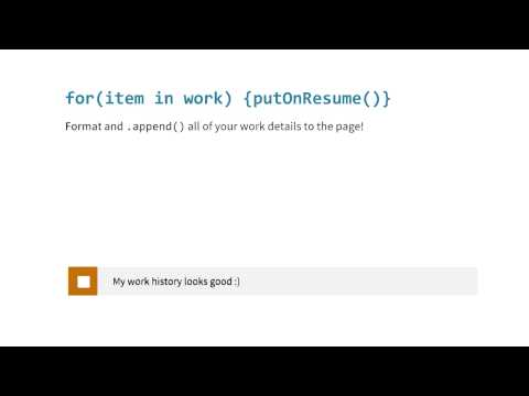Work Quiz - JavaScript Basics thumbnail