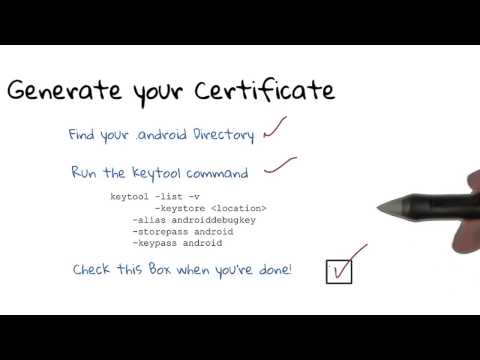 Generate Your Certificate - Solution thumbnail